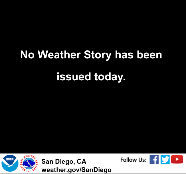 San Diego County Forecast