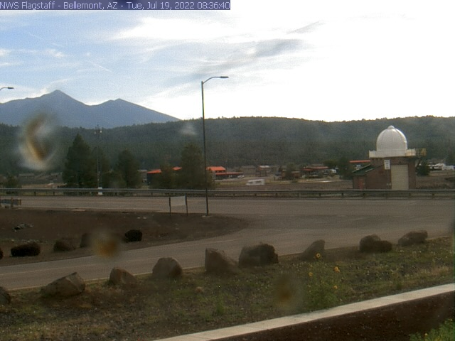 San Francisco Peaks Webcam Image