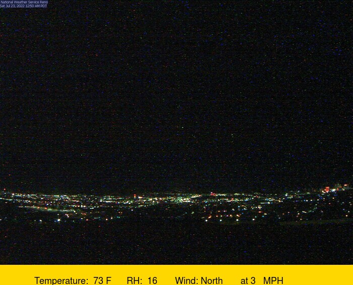 Reno Sky View Webcam Image