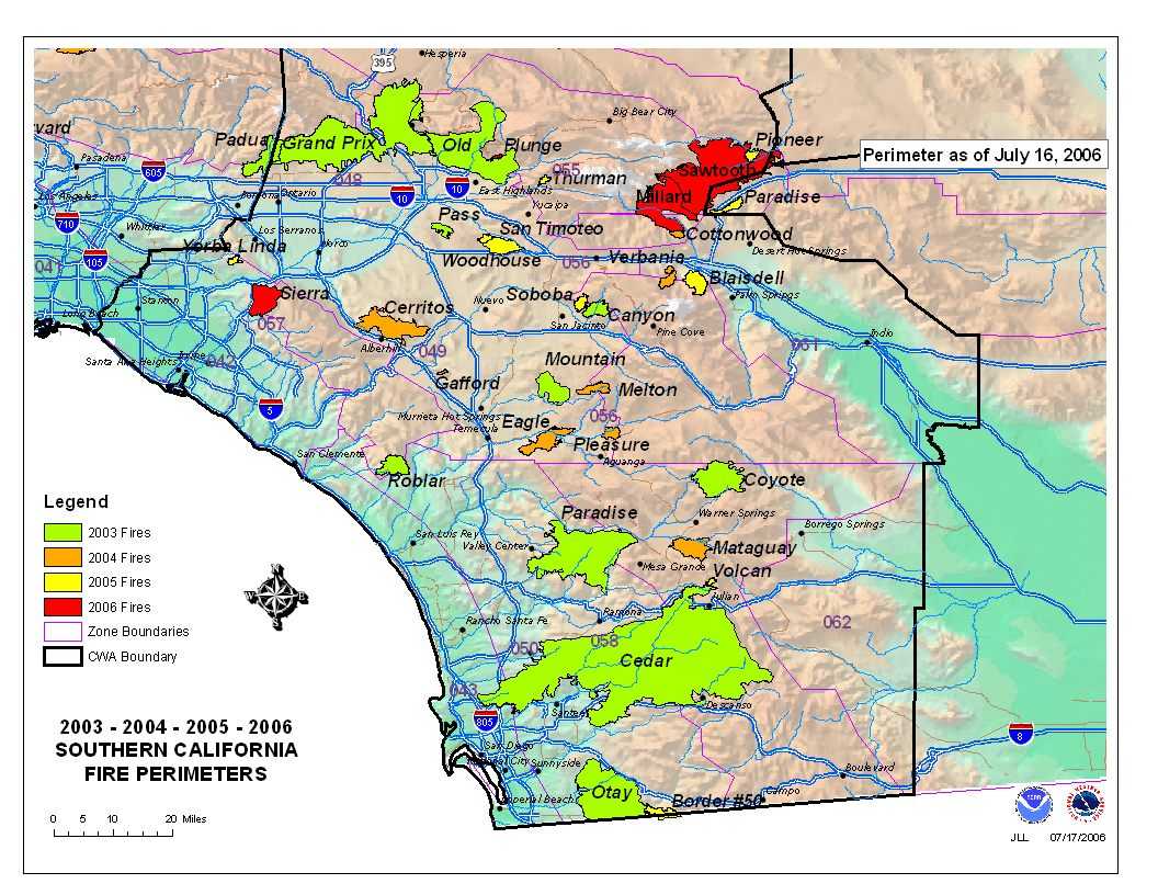 california quest fires poway map southern